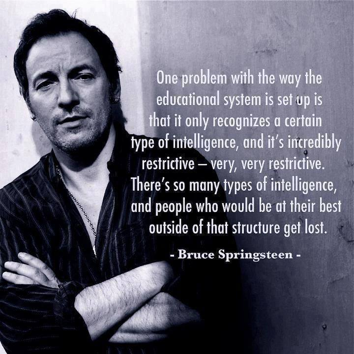 Image of: Motivational 999813101518075269137081954488389n Kinds Of Minds Bruce Springsteen On Education All Kinds Of Minds